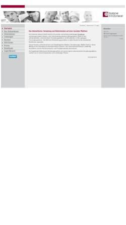 Vorschau der mobilen Webseite www.deutsche-zeitwert.de, Deutsche Zeitwert GmbH