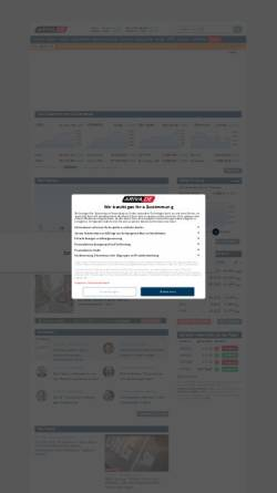 Vorschau der mobilen Webseite www.ariva.de, Ariva.de AG