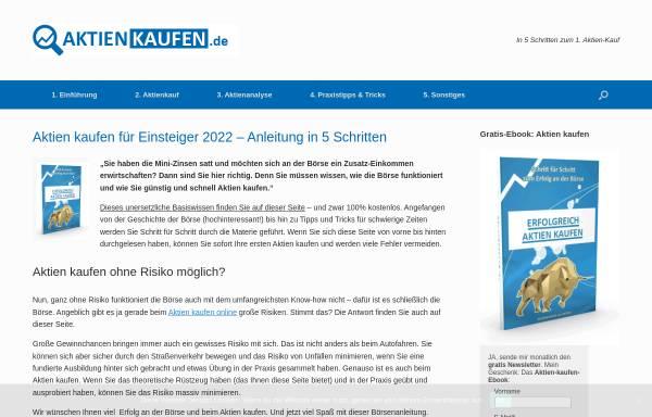Vorschau von www.boersennotruf.de, Boersennotruf.de - René Wolf