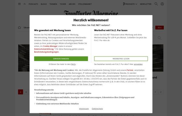 Vorschau von boersenlexikon.faz.net, Börsenlexikon F.A.Z. Electronic Media GmbH