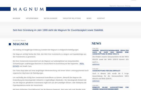 Vorschau von www.magnum-ag.de, Magnum AG