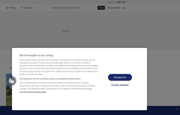 Vorschau von www.stocks.ch, Stocks