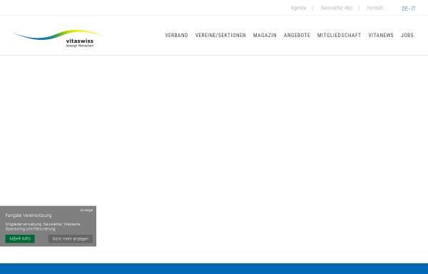 Vorschau von www.vitaswiss.ch, Vitaswiss