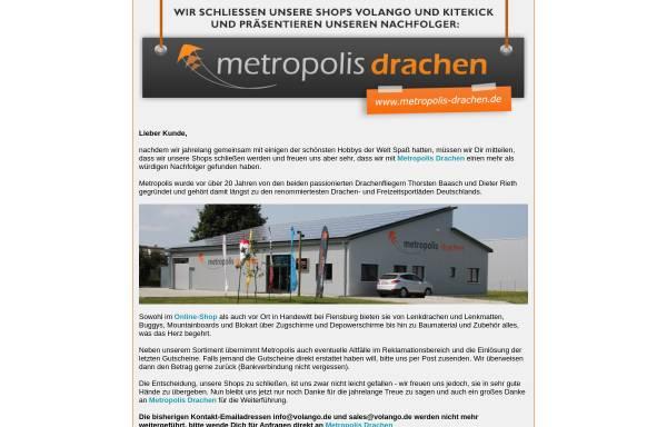 Vorschau von www.volango.de, European Online Distribution GmbH