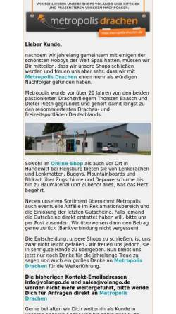 Vorschau der mobilen Webseite www.volango.de, European Online Distribution GmbH
