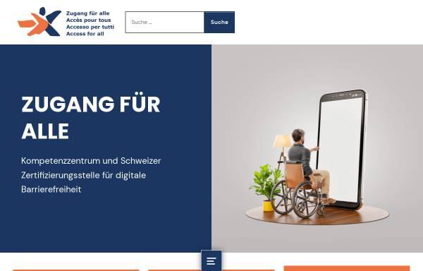 Vorschau von www.access-for-all.ch, Zugang für alle