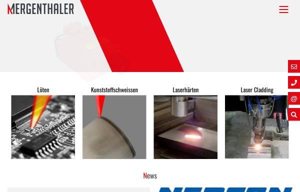 Vorschau von www.ma-info.de, Dr. Mergenthaler GmbH & Co.KG