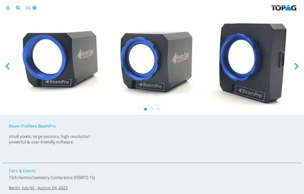 Vorschau von www.topag.de, TOPAG Lasertechnik GmbH