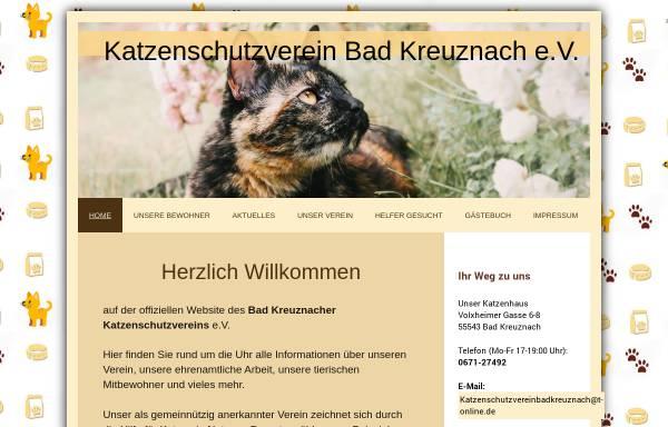 Vorschau von www.katzenschutzverein-bad-kreuznach.com, Katzenschutzverein Bad Kreuznach e.V.