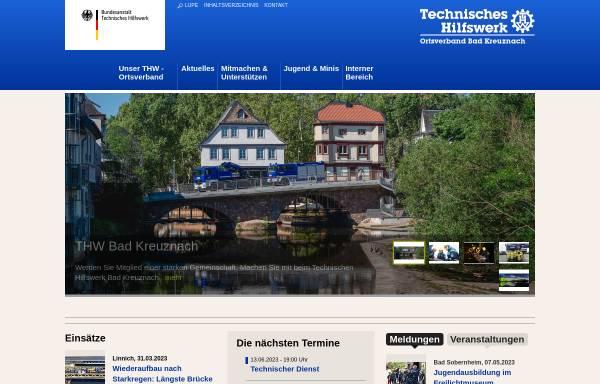 Vorschau von ov-bad-kreuznach.ov-cms.thw.de, THW Ortsverband Bad Kreuznach