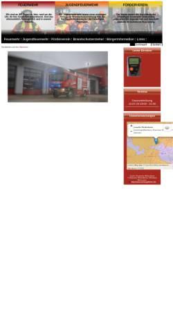 Vorschau der mobilen Webseite www.feuerwehr-deidesheim.de, Freiwillige Feuerwehr der Stadt Deidesheim