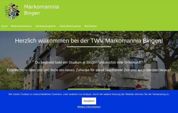Vorschau von www.markomannia.com, Burschenschaft Markomannia e. V.