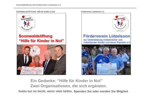 Vorschau von www.kinder-in-not-hilfe.de, Förderverein Lützelsoon zur Unterstützung krebskranker notleidender Kinder und deren Familien e.V.