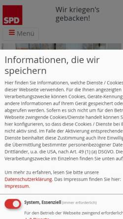 Vorschau der mobilen Webseite spd-fraktion-mutterstadt.de, SPD Mutterstadt
