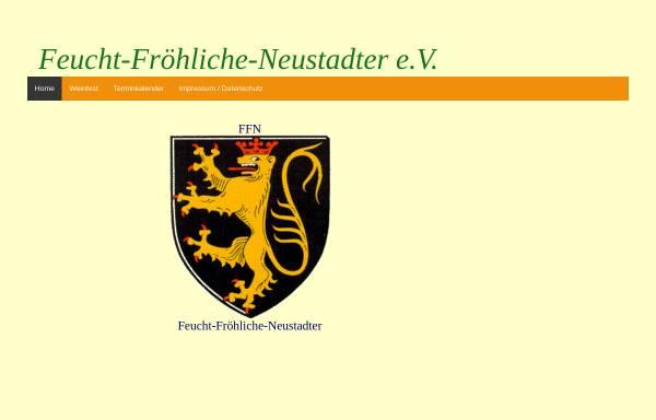 Vorschau von www.ffn-neustadt.de, FFN - Feucht-Fröhliche Neustadter