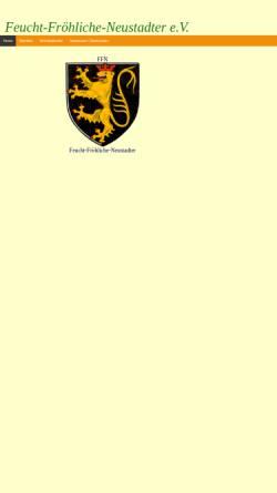 Vorschau der mobilen Webseite www.ffn-neustadt.de, FFN - Feucht-Fröhliche Neustadter