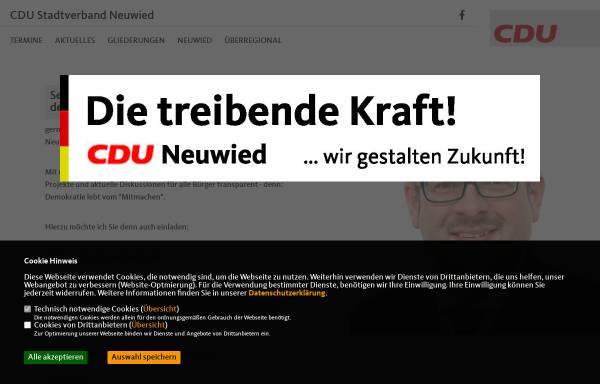 Vorschau von www.cdu-neuwied.de, CDU - Stadtverband Neuwied