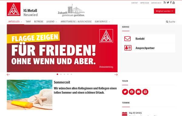 Vorschau von www.igmetall-neuwied.de, IG Metall Verwaltungsstelle Neuwied