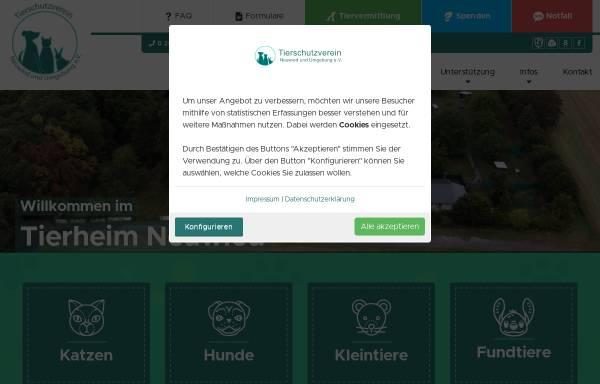 Vorschau von www.tierheim-neuwied.de, Tierschutzverein Neuwied und Umgebung e.V.