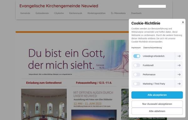 Vorschau von www.marktkirche.de, Musik in der Marktkirche Neuwied