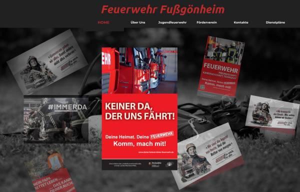 Vorschau von www.feuerwehr-fussgoenheim.de, Freiwillige Feuerwehr Fußgönheim