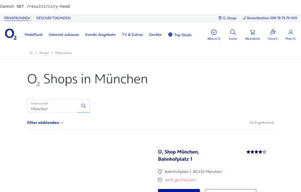 Vorschau von www.o2online.de, O2online