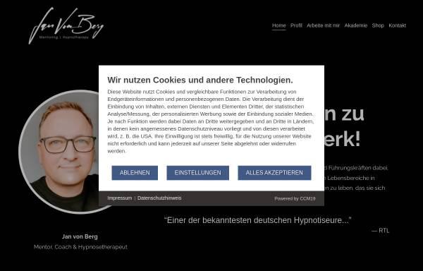 Vorschau von www.janvonberg.com, Jan von Berg