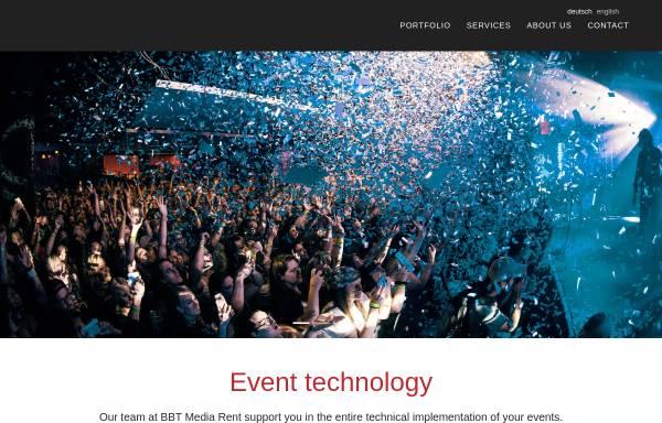 Vorschau von bbt-mediarent.de, BBT Media Rent e.K.