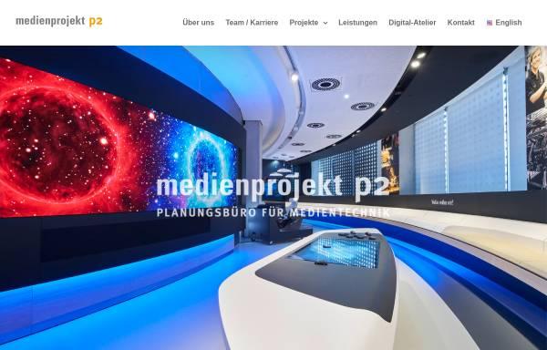 Vorschau von medienprojektp2.de, Medienprojekt P2 GmbH