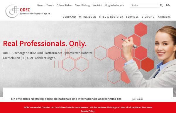Vorschau von www.svts.ch, SVTS - Schweizerischer Verband der Techniker