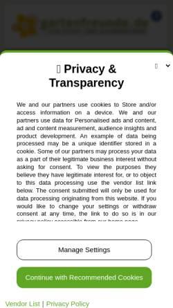 Vorschau der mobilen Webseite www.gartenfreunde.de, Gartenfreunde.de