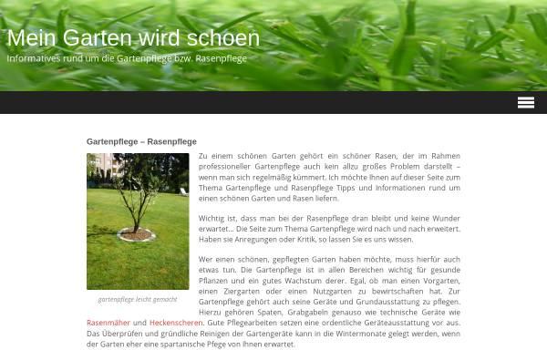 Vorschau von www.mein-garten-wird-schoen.de, Mein Garten wird schön