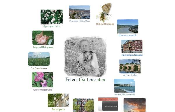 Vorschau von www.eisenburger.de, Peters Gartenseiten