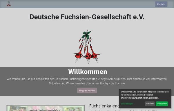 Vorschau von www.deutsche-fuchsien-ges.de, Deutsche Fuchsien- Gesellschaft e. V.