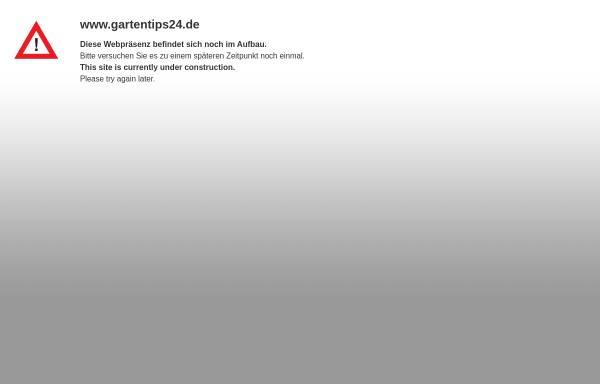 Vorschau von www.gartentips24.de, Gartentips24.de