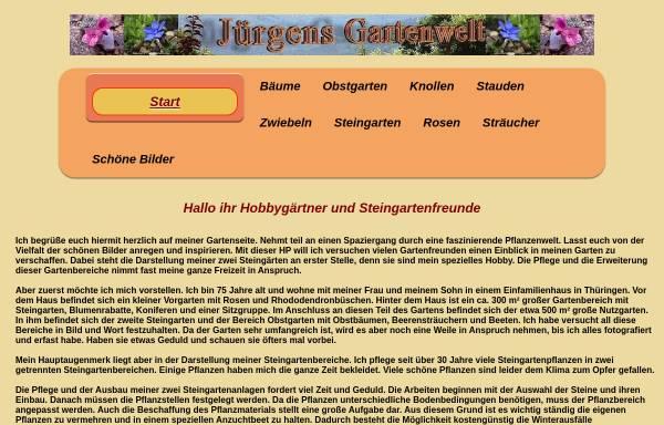 Vorschau von www.juergens-gartenwelt.de, Juergens Gartenwelt