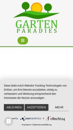Vorschau der mobilen Webseite martinas-garten.de, Martinas Garten
