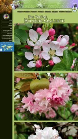 Vorschau der mobilen Webseite www.pflanzenliebe.de, Pflanzenliebe