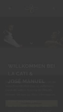 Vorschau der mobilen Webseite www.flamencoflamenco.de, José Manuel und Cati