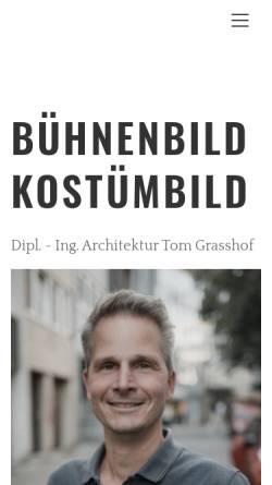 Vorschau der mobilen Webseite www.tom-grasshof.de, Grasshof, Tom