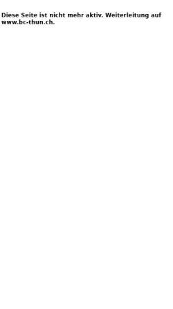 Vorschau der mobilen Webseite www.bctus.ch, BC Thun-Uetendorf-Steffisburg