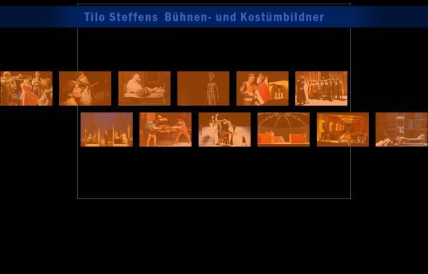 Vorschau von www.tilo-steffens.de, Tilo Steffens Bühnen- und Kostümbildner