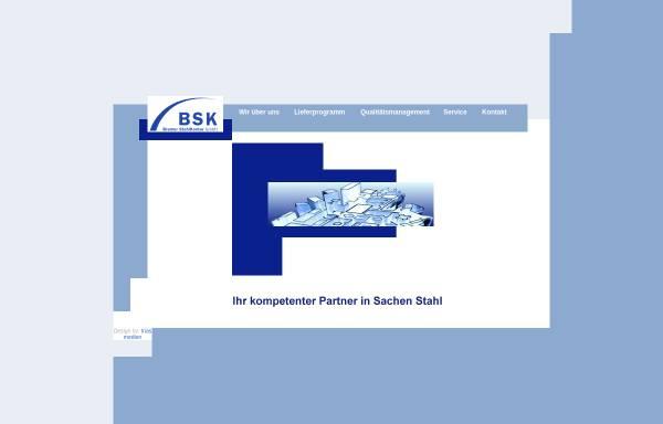 Vorschau von www.bremer-stahlkontor.de, BSK Bremer StahlKontor GmbH