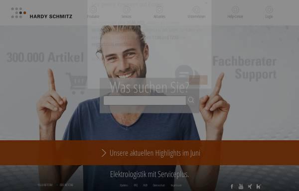 Vorschau von www.hardy-schmitz.de, Hardy Schmitz GmbH & Co. KG