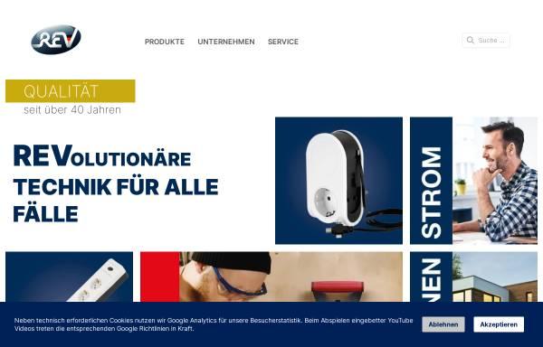 Vorschau von www.rev.de, REV Ritter GmbH