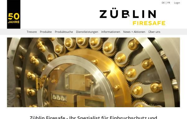 Vorschau von www.zueblin-firesafe.ch, Züblin Firesafe AG