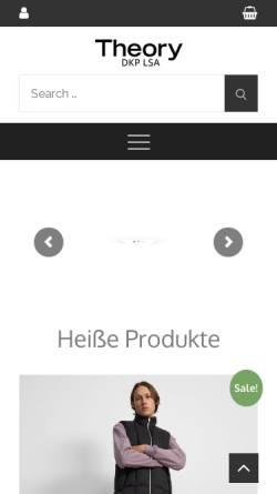 Vorschau der mobilen Webseite www.dkp-lsa.de, DKP Sachsen-Anhalt