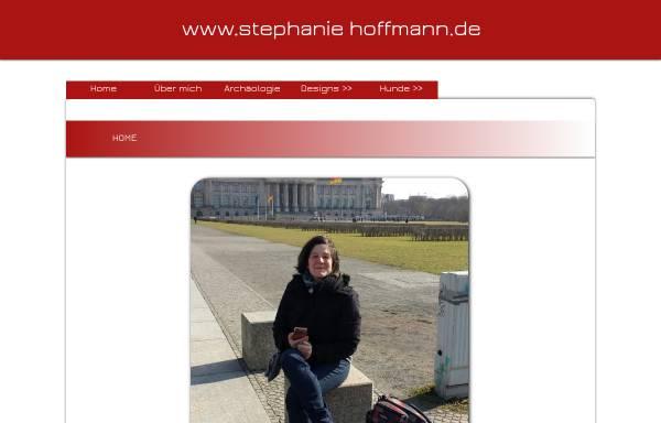 Vorschau von www.stephaniehoffmann.de, Forum für Archäologie - Dr. Stephanie Hoffmann