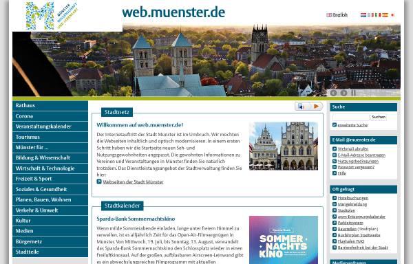 Vorschau von www.muenster.de, Mit Jeans in die Steinzeit