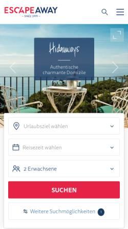 Vorschau der mobilen Webseite www.siglinde-fischer.de, Siglinde Fischer GmbH & Co. KG